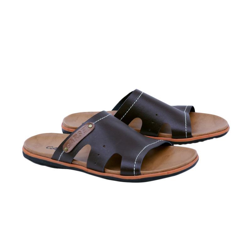 Garsel Sandal Kasual Pria - Coklat GJY 3416