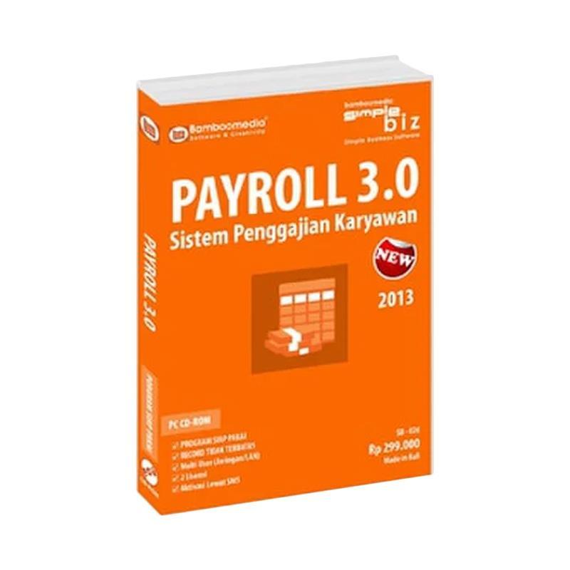 Bamboomedia PAYROLL 3.0 Sistem Penggajian Karyawan dan BPJS Software