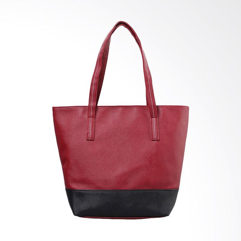 A2 Bag A2.006 Tas Wanita - Merah Hitam