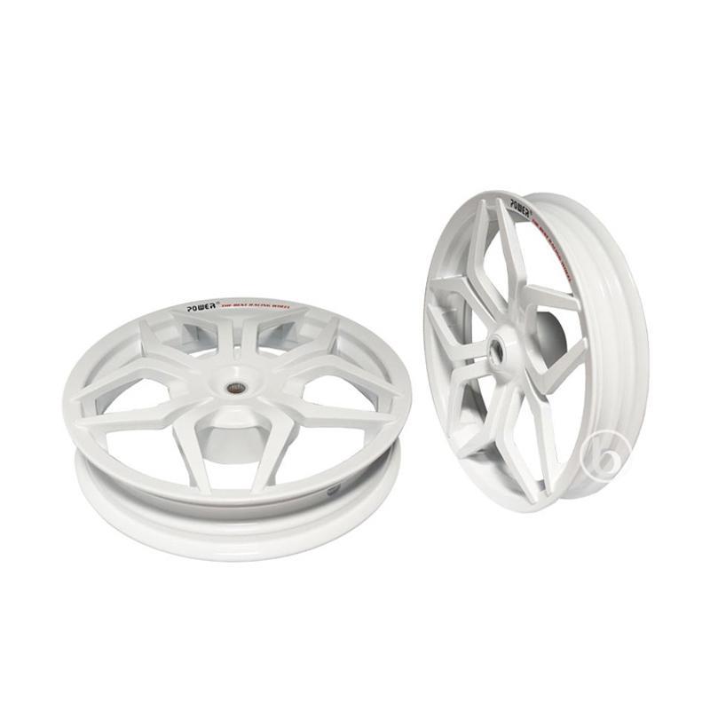 harga Power Star Velg Racing Tapak Lebar for Honda Vario Techno 110 - Putih [14-215/250] Blibli.com