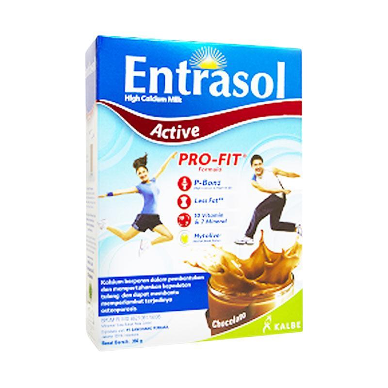 Kalbe Entrasol Active Rasa Coklat Susu Dewasa [360g]