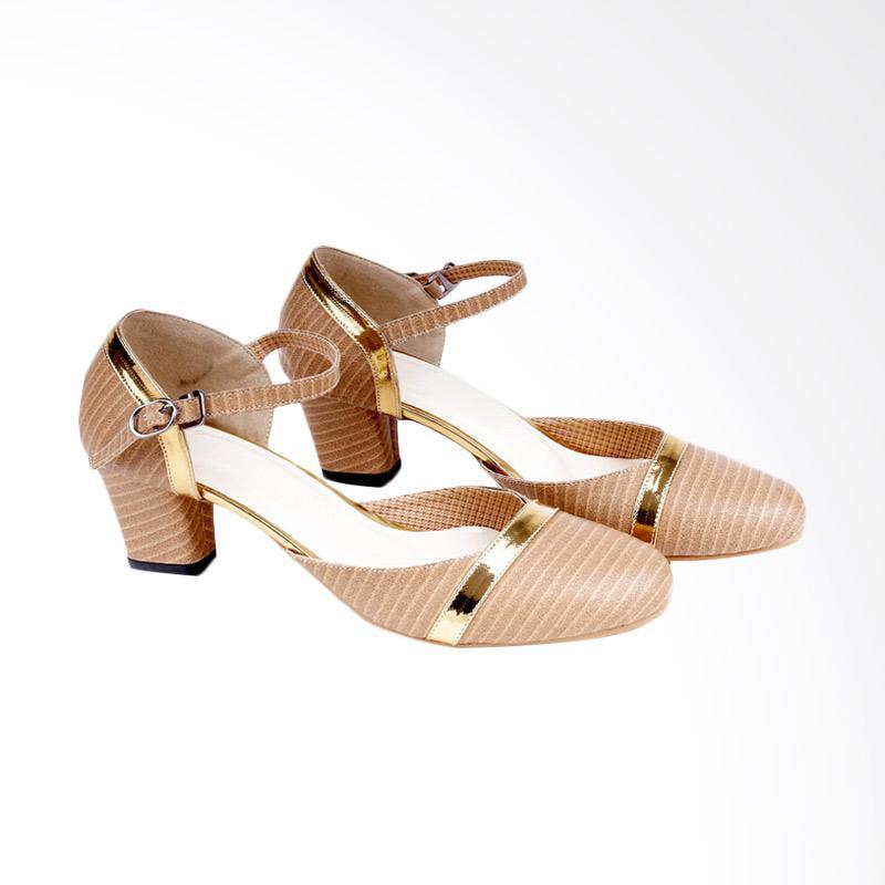 Garucci GBU 4198 Mid Low Heels Wanita