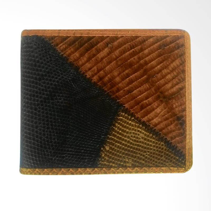 Zamrud Purse Of Lizard Skin and Original Snake Skin Dompet Pria