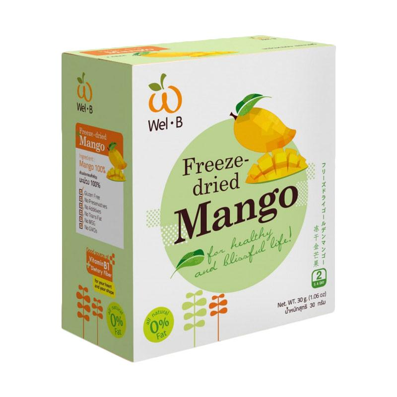 Wel-b Freeze-dried Mango 100% Natural Healthy Fruit Snacks [30g]