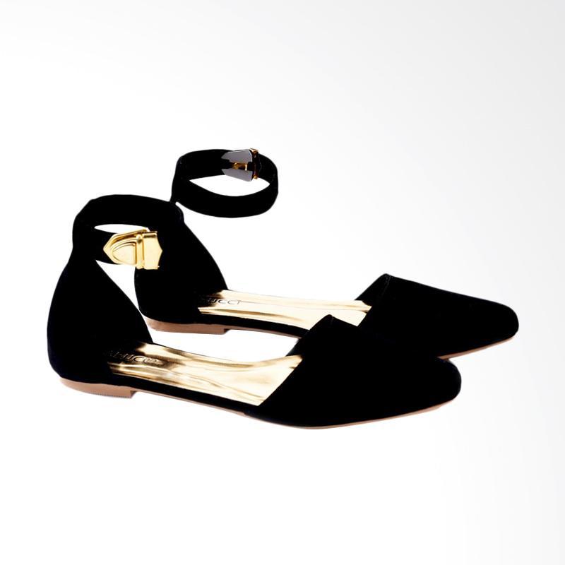 Garucci GMY 6057 Ballerina Shoes Wanita - Black