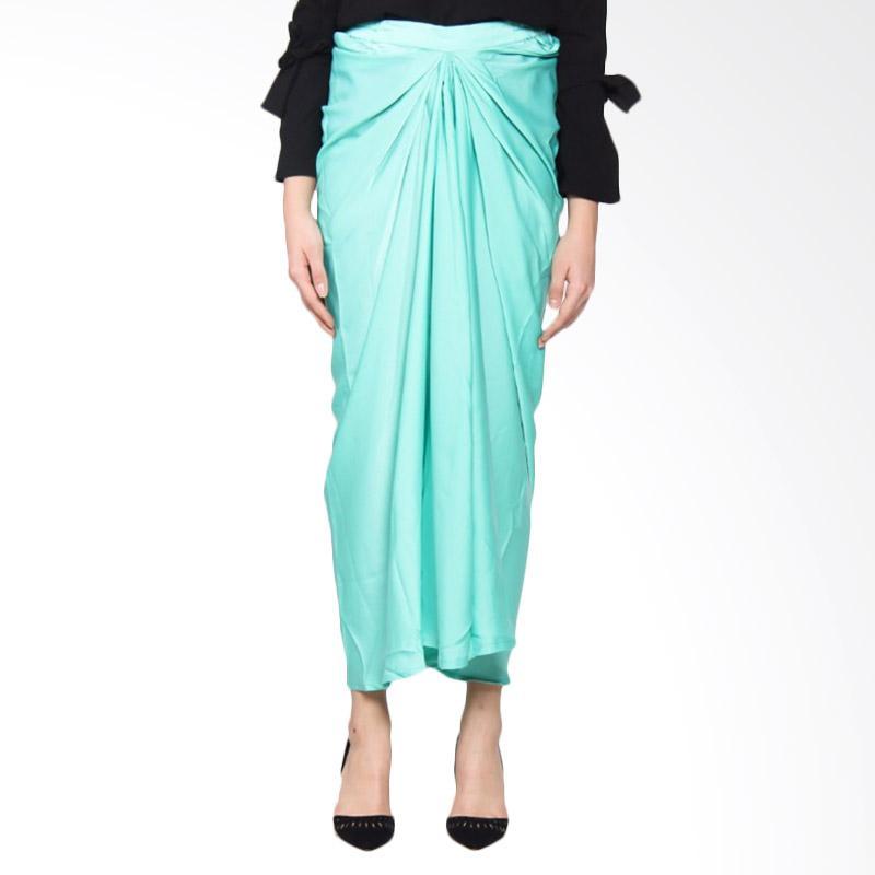Rauza Rauza Mermaid Skirt Rok Muslim - Ocean Green