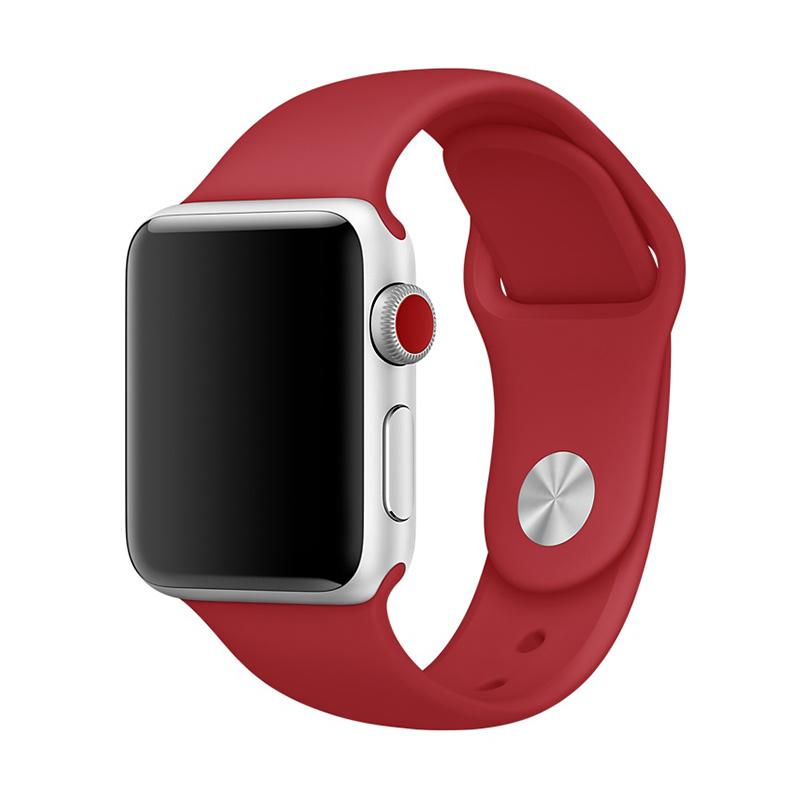 Original Red Sport Band For Apple Watch 42mm MQXE2F
