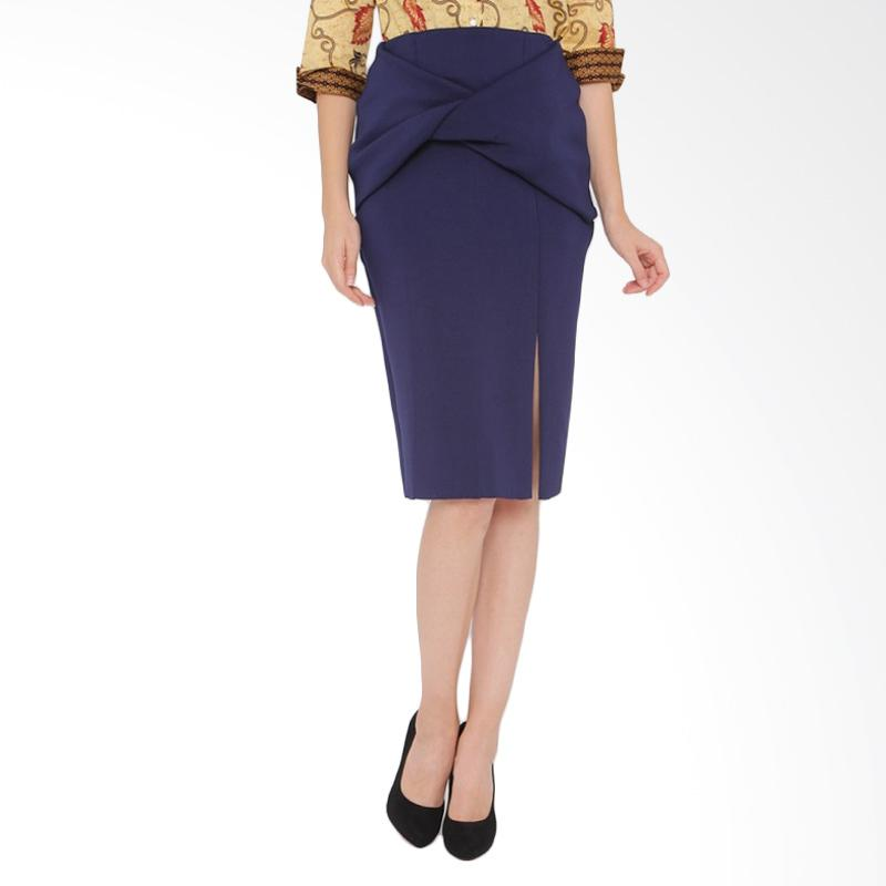 A&D Fashion Ladies Feminim Rok Wanita - Navy