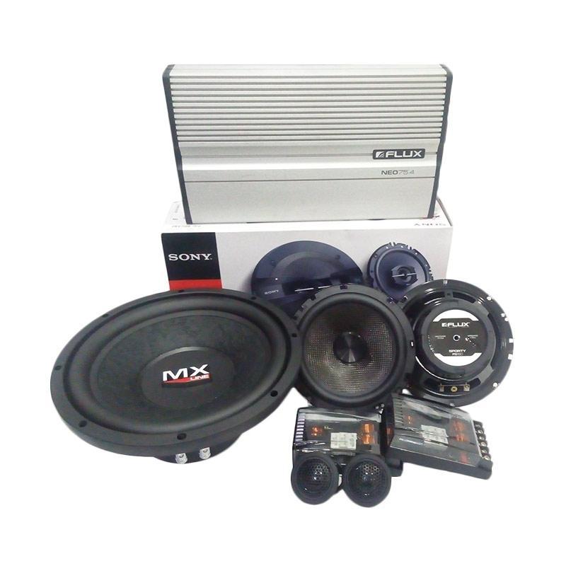 Flux BC 261 Speaker Mobil [2 Way]