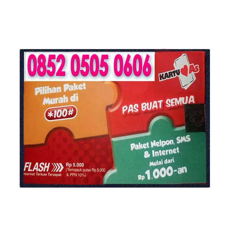 harga Kartu As Nomor Cantik 0852 0505 0606 Kartu Perdana Blibli.com