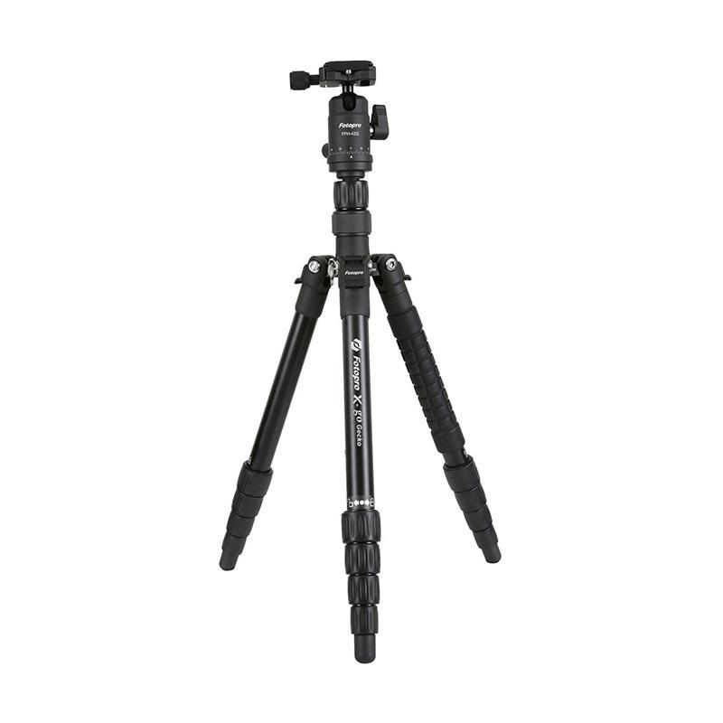 Fotopro X-Go Gecko Aluminum Professional Tripod dan Monopod - Hitam