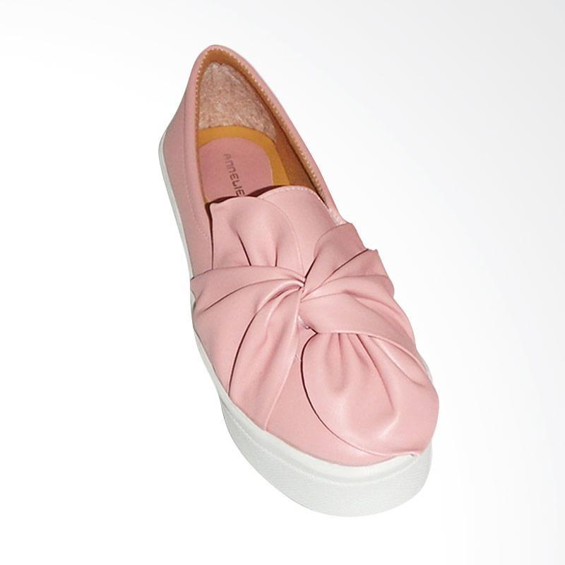 Anneliese Ribbon Slip On Sepatu Wanita - Salem