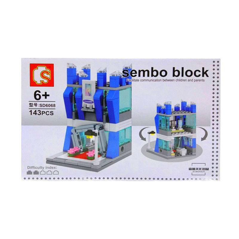 Istana kado IKO00855 Sembo Building Block City Puzzle N/A Samsung Mini Blocks