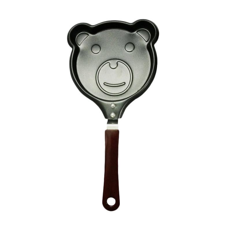 Chanel7 Teflon Wajan Penggorengan Mini Karakter - Bear