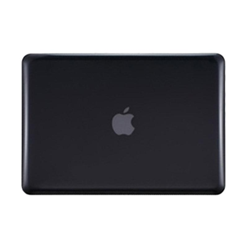 harga One Case Crystal Case for Macbook Pro 13.3 Inch A1278 with CD-ROM - Black Blibli.com