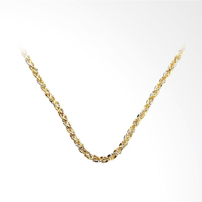 Melisandre  Kalung Emas Kadar 75 - Gold Chain Necklace-WHIZLIZ