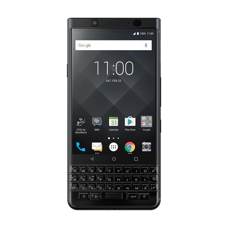Blackberry Key One Smartphone - Black [64 GB/ 4 GB] + Free JBL Go Speaker