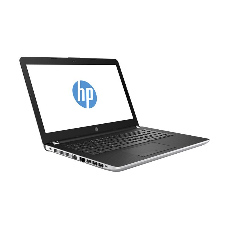 harga HP 14-bw003au Laptop - Sliver [DualCore E2-9000E/4GB/14 Inch/win 10] Blibli.com