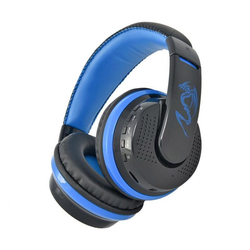 03c9be5bdae Jual OVLENG MX666 Original Wireless Bluetooth Music Headphones with Mic  Noise Canceling - Biru Online – Harga & Kualitas Terjamin | Blibli.com