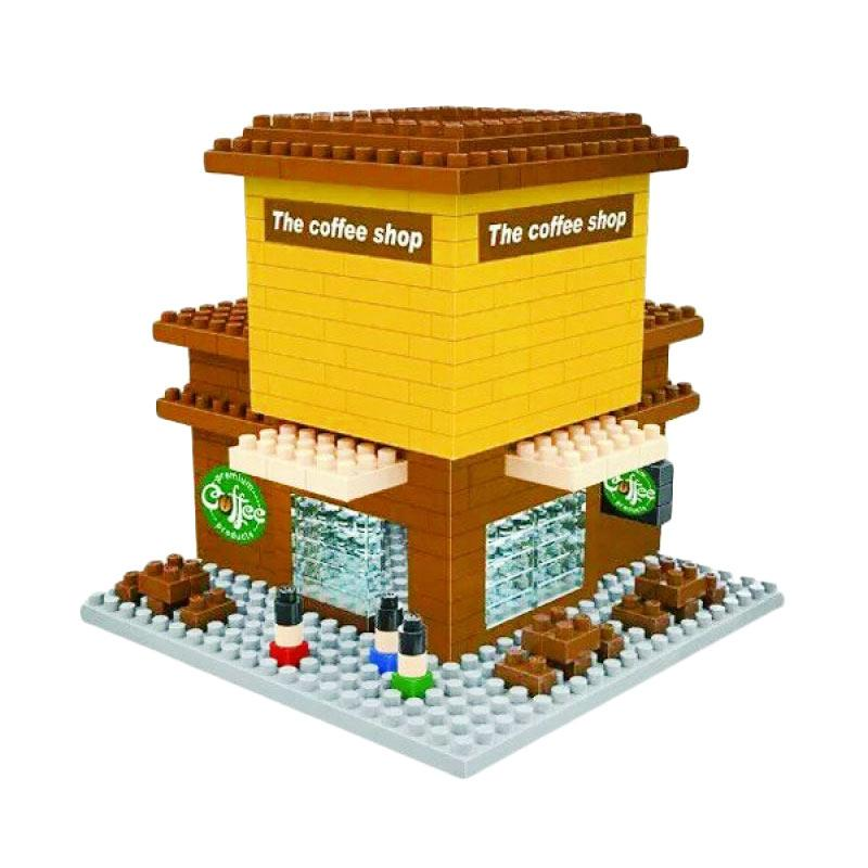 Wisehawk The Coffee Shop 2319 Mini Blocks