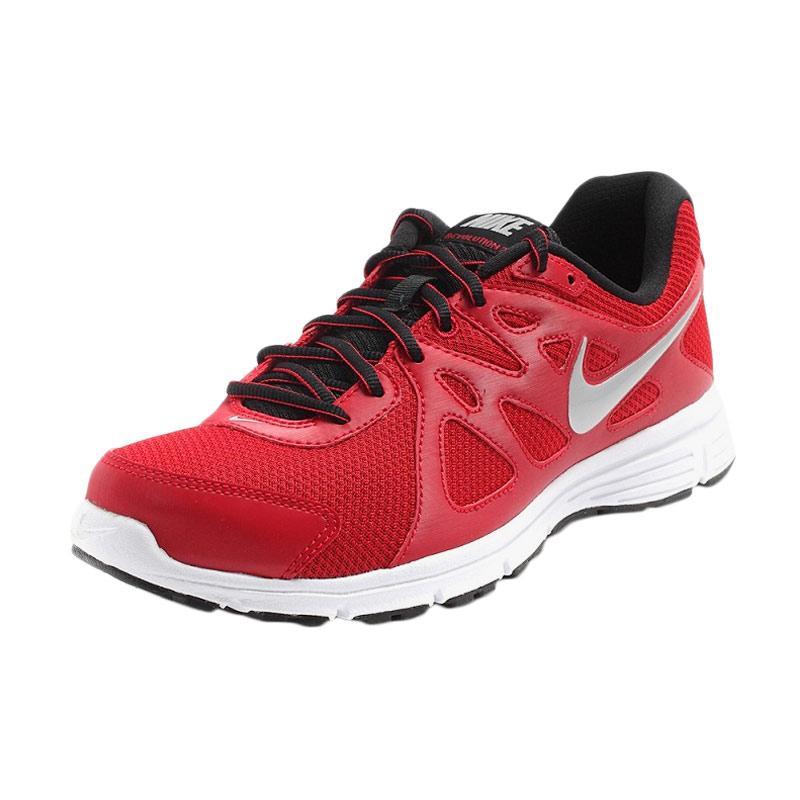 NIKE Revolution 2 Sepatu Lari Pria - Red [MSL 554954 601]