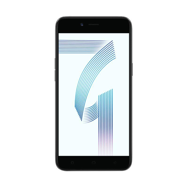 OPPO A71 Smartphone - Black [2 GB/ 16 GB]