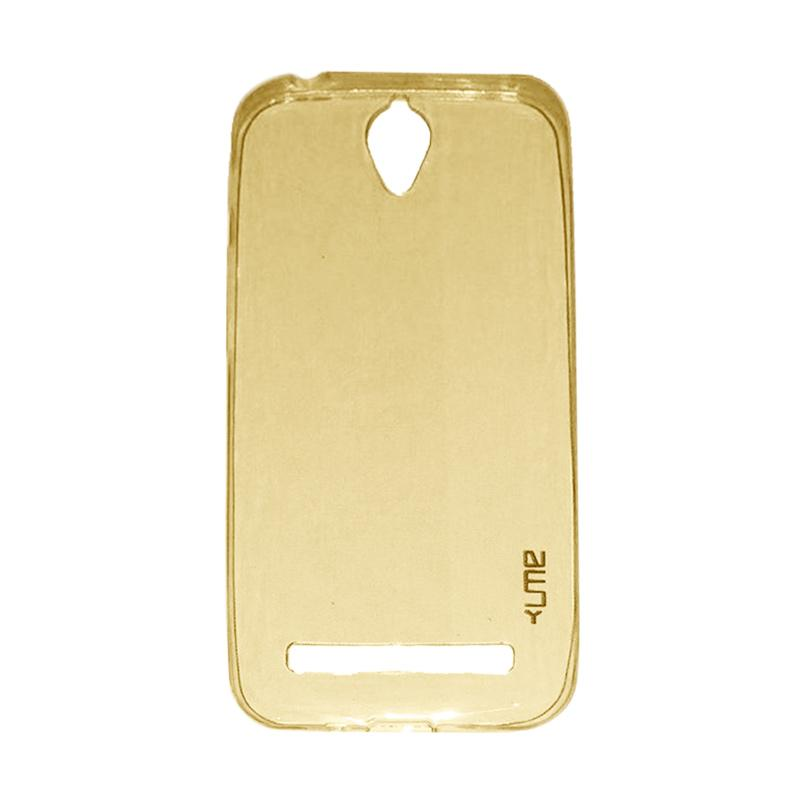 Ume Ultrathin Silicone Jellycase Softcase Casing for Asus Zenfone Go ZC500TG 5.0 Inch - Yellow