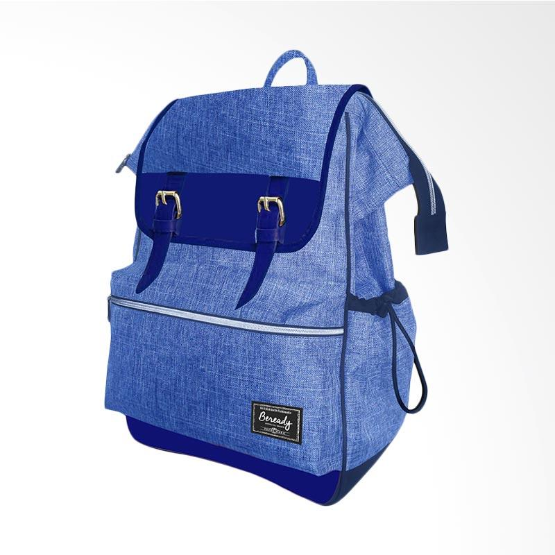 BeReady Backpack Tas Ransel - Blue [BP 5016]