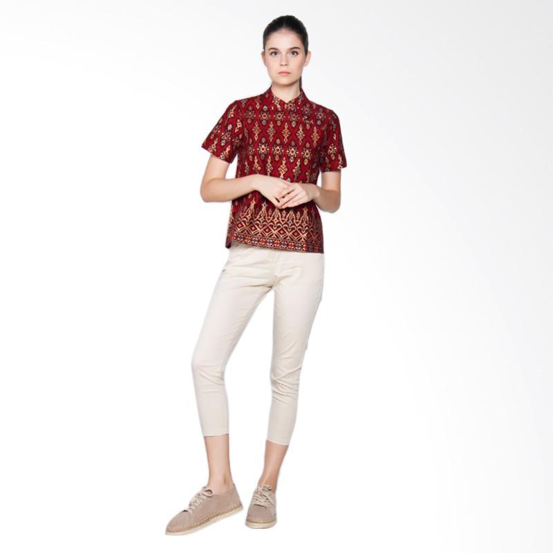 OLY.ID OL-002 Seragam Babysitter - Red Lux Batik