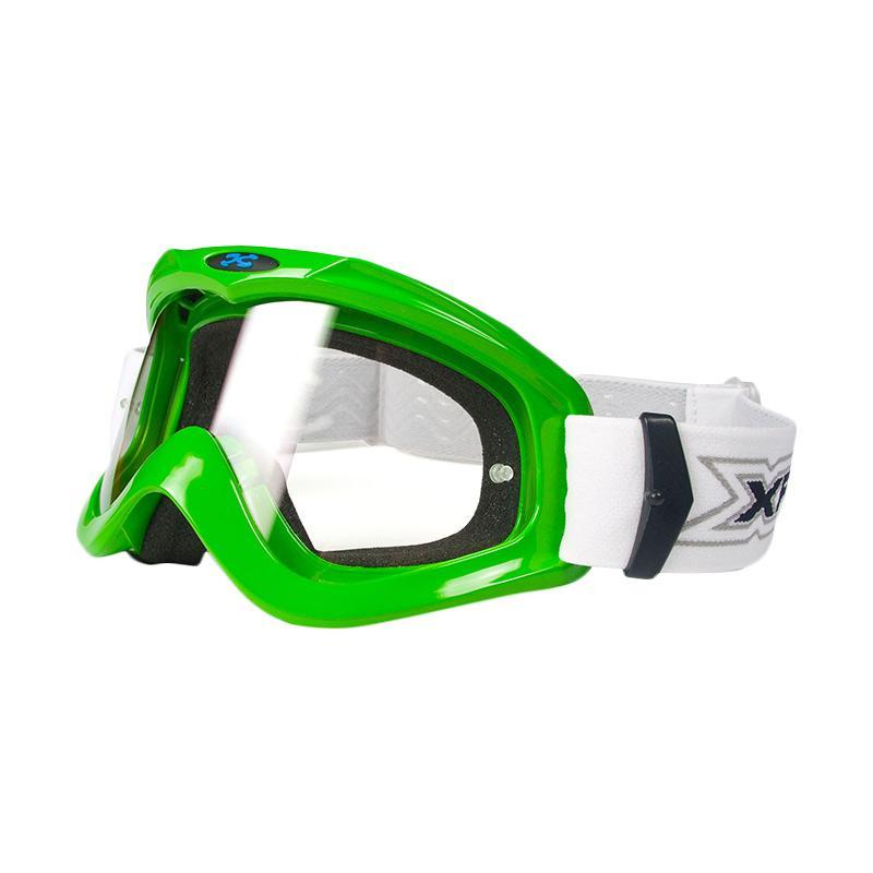 Xforce® Max Moto Cross Goggle - Green