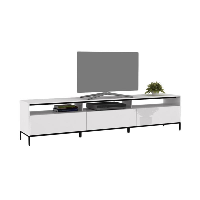 Pro Design Petra 225 Rak TV - White Glossy