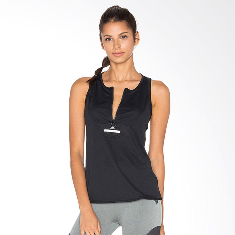 adidas Original Ess Climachill Tank Baju Olahraga Wanita - Black [AX7568]