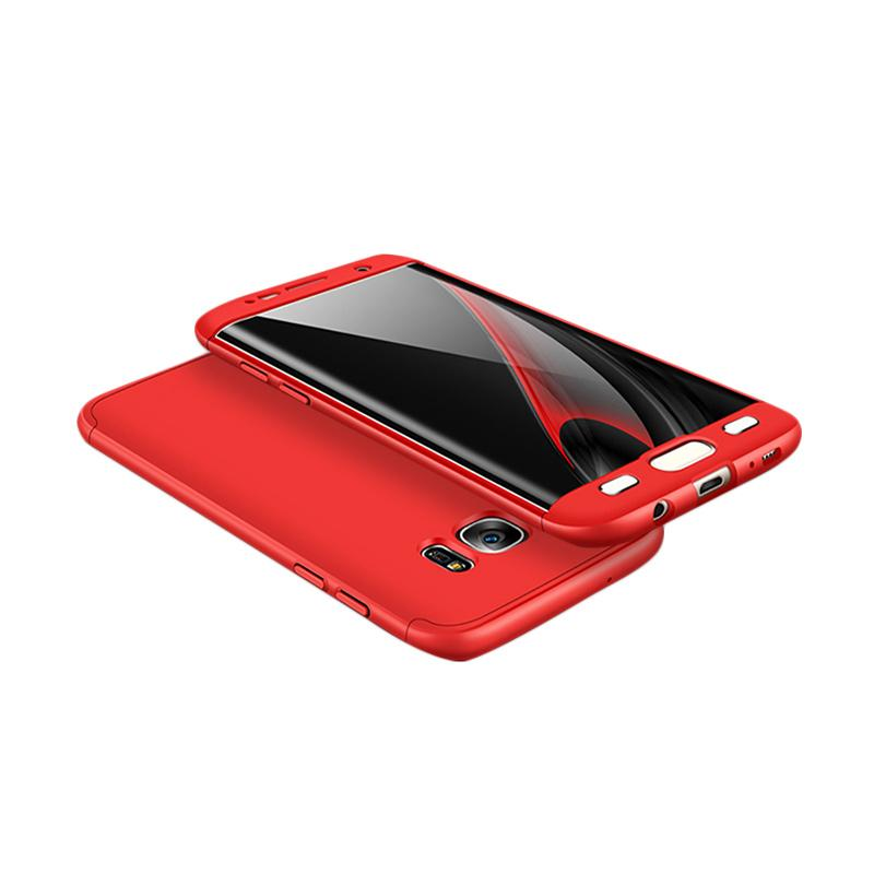 HM 360 Full Protection 3in1 Casing for Samsung S7 Edge - Red