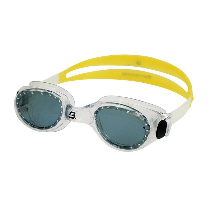 Barracuda FLITE One Piece Frame Anti Fog UV Protection Kacamata Renang - Yellow [#8420]