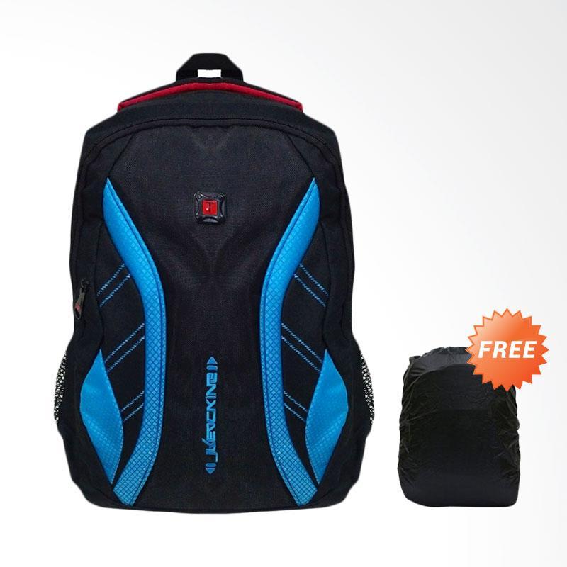 Bag & Stuff Daytona Laptop 14 Inch Backpack Pria with Raincover - Toska