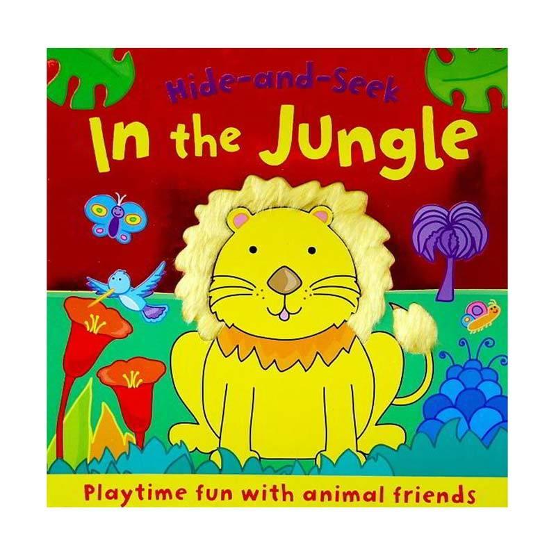 Genius Hide and Seek In the Jungle Playtime Fun with Animal Friends Buku Edukasi Anak