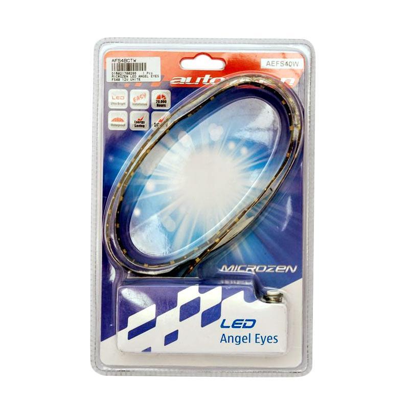 Autovision FS40 Microzen Angel Eyes LED Bohlam Lampu - White [12 V]