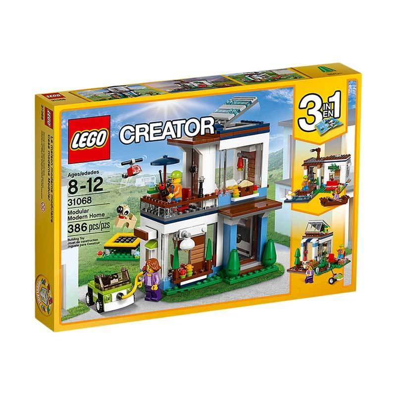 LEGO Creator 31068 Modular Modern Home Blocks & Stacking Toys