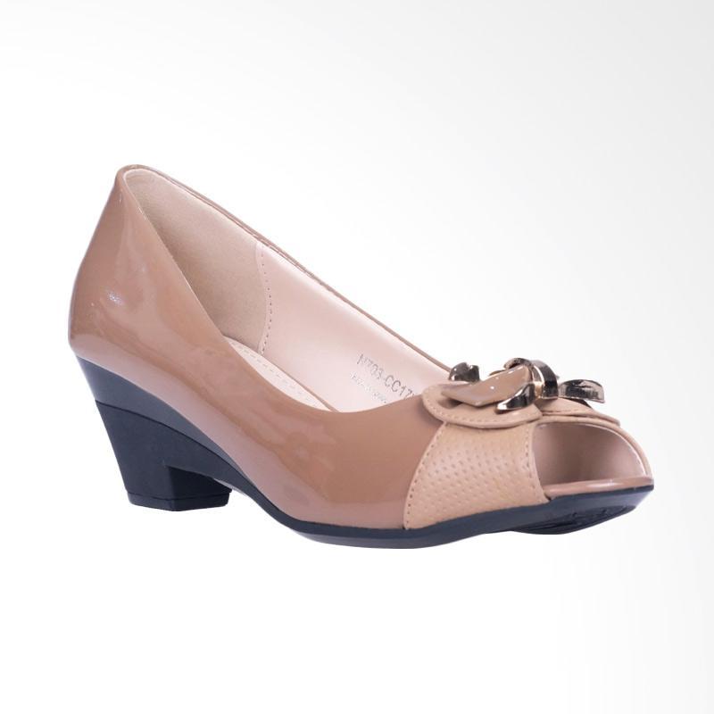 harga Inside Jewel Mid Low Heels - Khaky Blibli.com