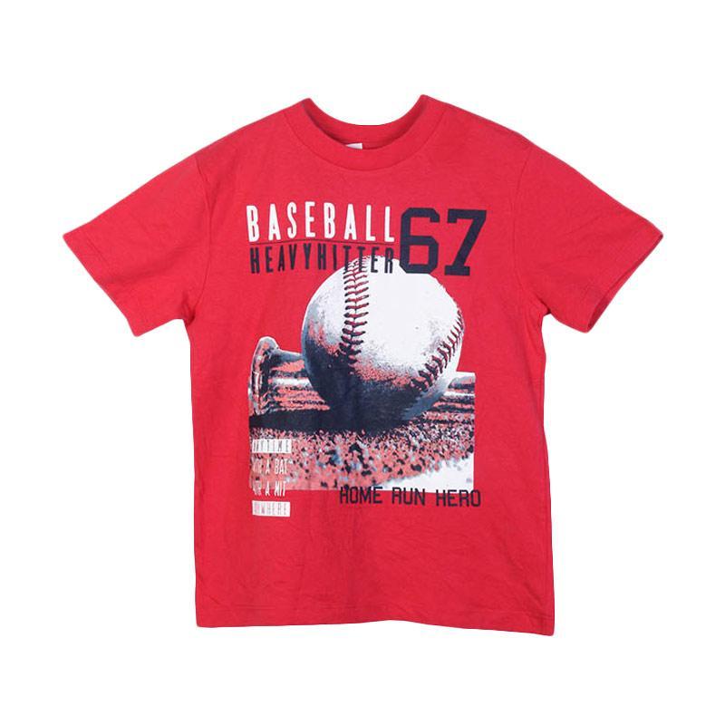harga Millenia PLT 16 Baseball Kaos Anak Laki-Laki Blibli.com