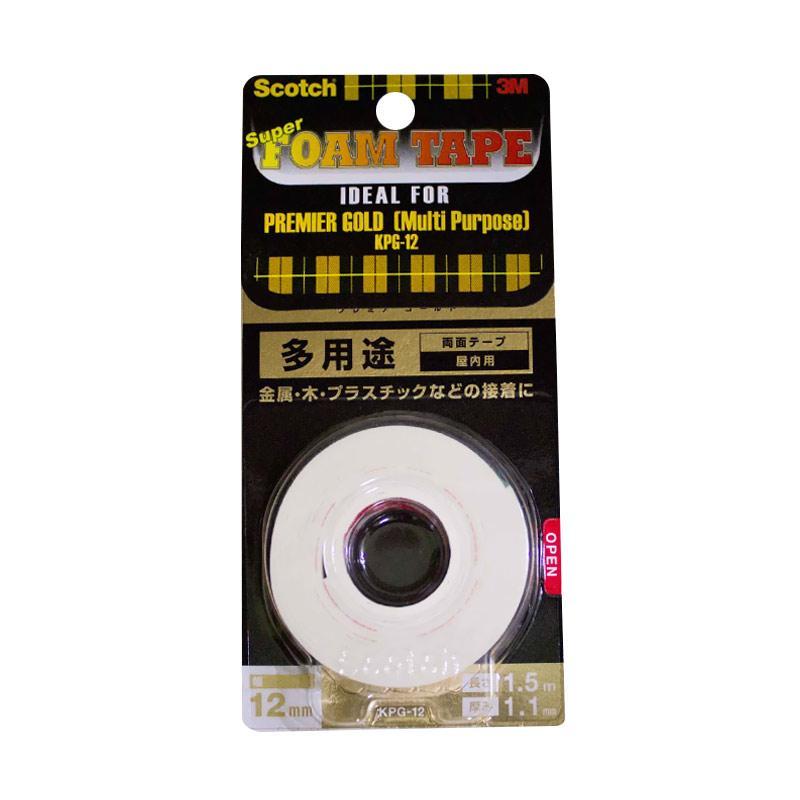 3M Scotch KPG-12 Premier Gold Super Strong Double Tape