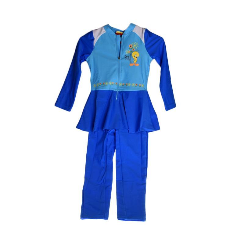 OPELON 07.4032.000.16.T1 Terusan Baju Renang Anak - Turquoise