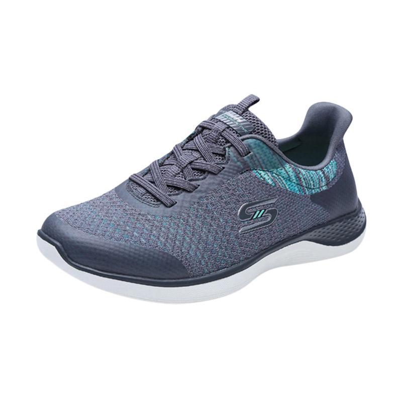 Skechers Orbit Flying Fleet Sepatu Olahraga Wanita - Grey [23352CCGR]