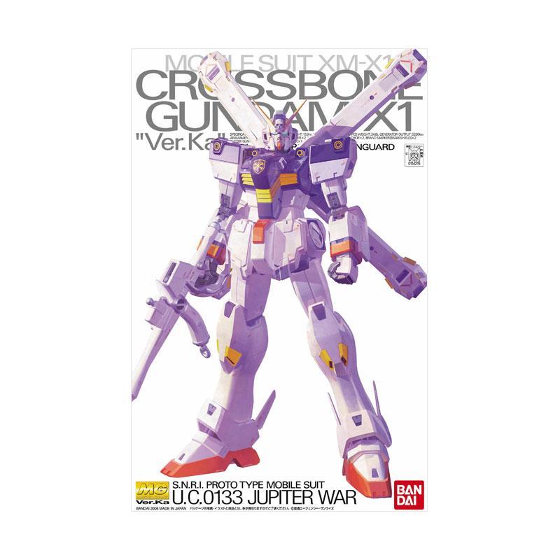 Bandai MG XM-X1 Crossbone Gundam X-1 Ver. Ka Model Kit [1:100]