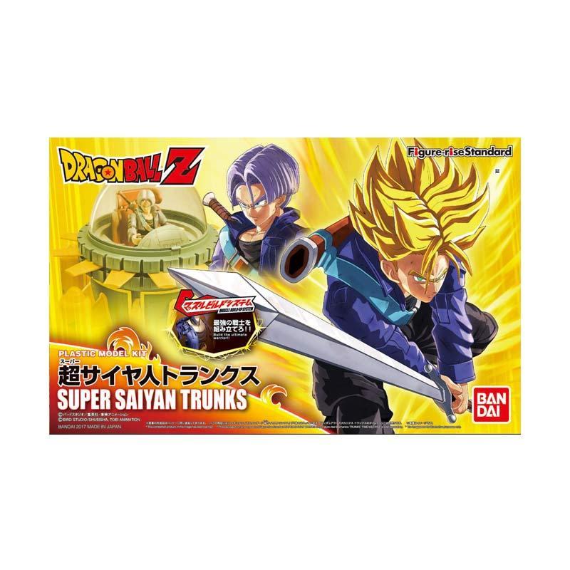 Bandai Super Saiyan Trunks Figure Rise Standard Action Figure