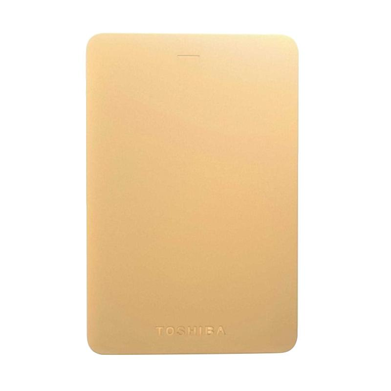 Toshiba Canvio Alumy Metal Body Harddisk External - Rose Gold [1 TB/ USB 3.0]
