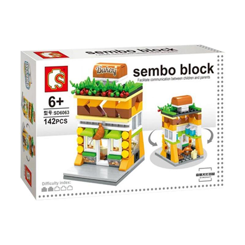 Sembo Sd6063 Bakery Mini Blocks