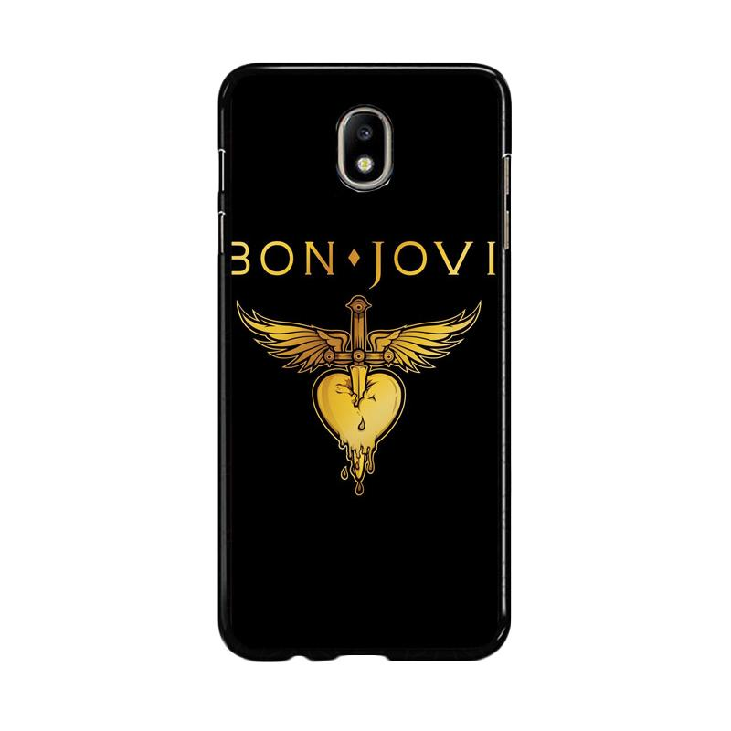 Flazzstore Bon Jovi Logo F0357 Custom Casing for Samsung Galaxy J7 Pro 2017