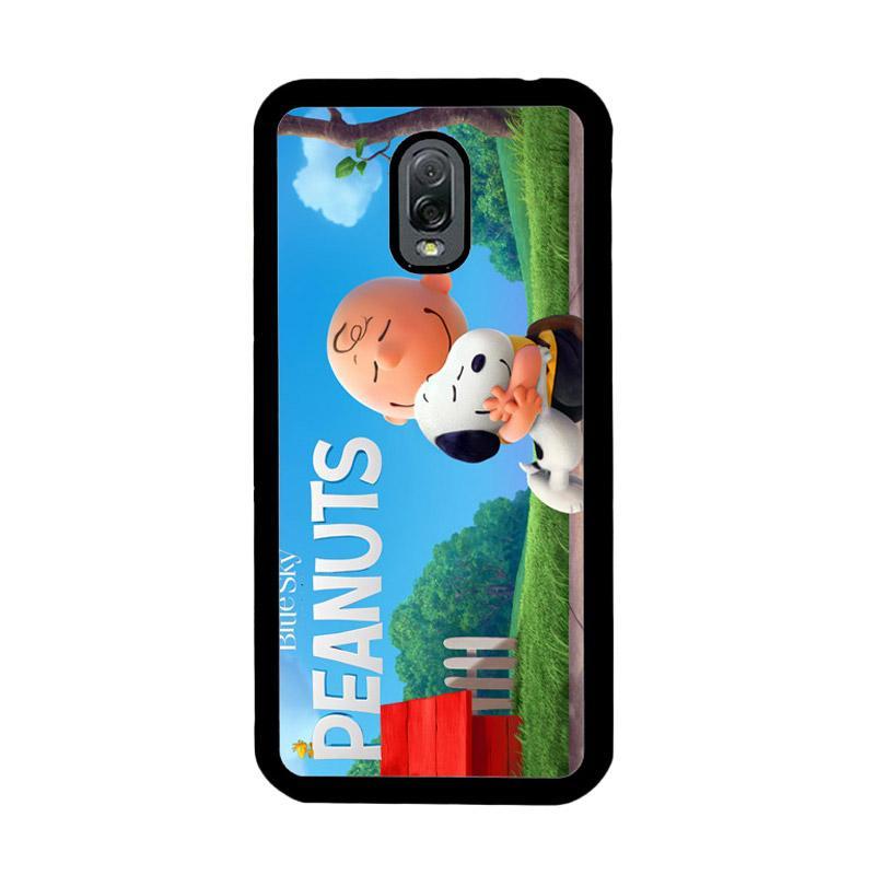 Flazzstore Peanuts Movie Animation Z0283 Custom Casing for Samsung Galaxy J7 Plus