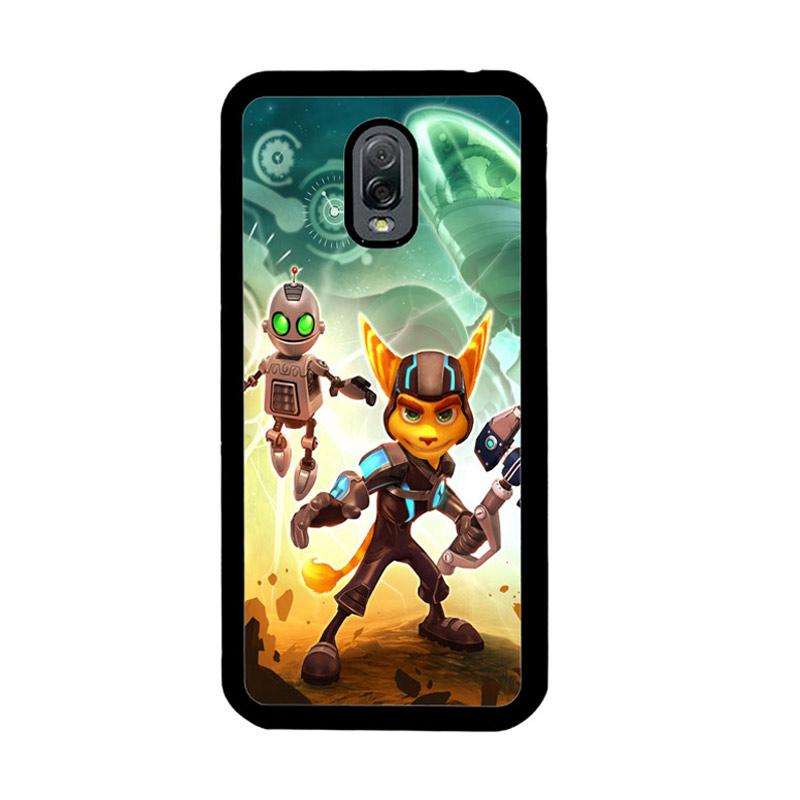 Flazzstore Ratchet And Clank Z1150 Custom Casing for Samsung Galaxy J7 Plus